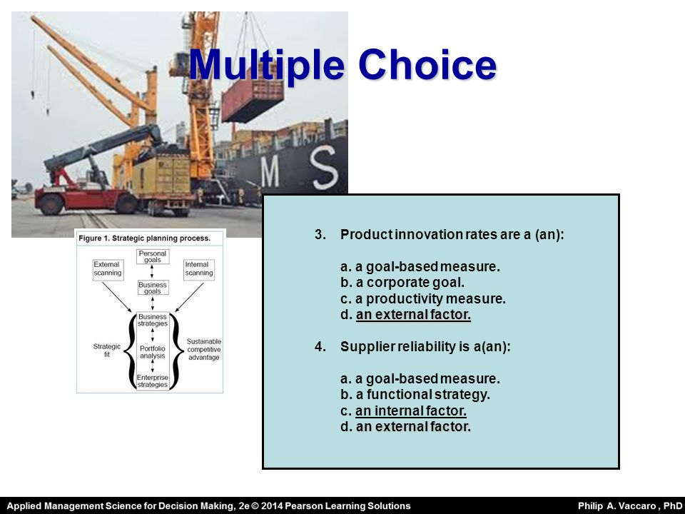 Multiple Choice Product innovation rates are a (an):