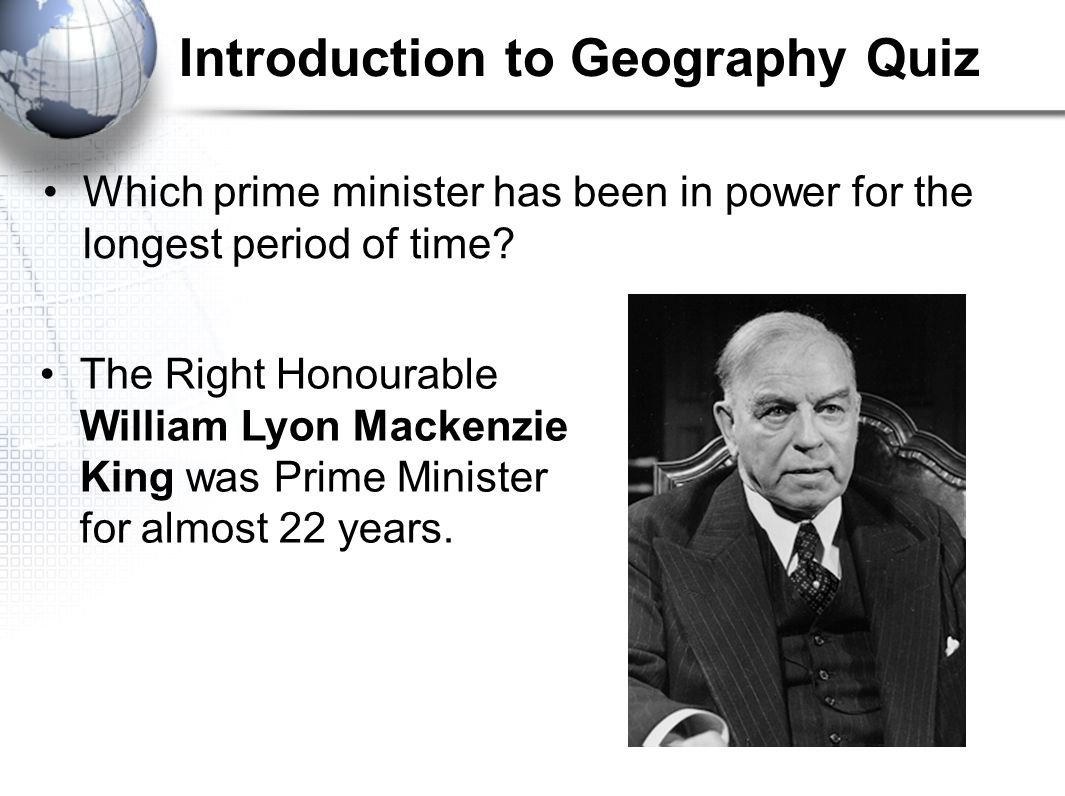 Introduction to Geography Quiz