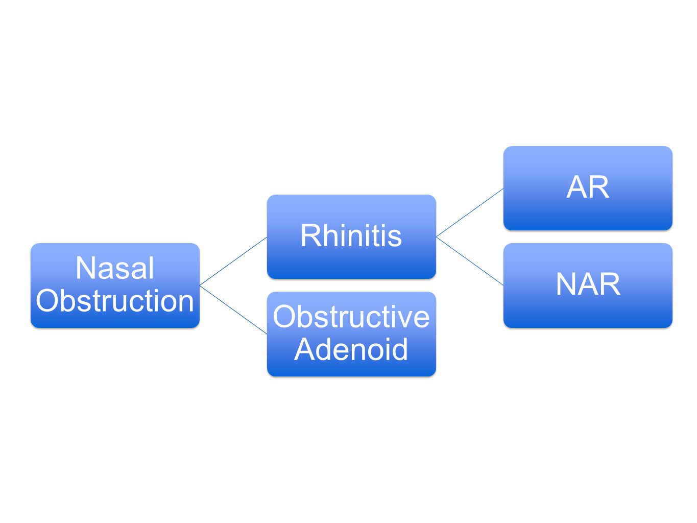 Nasal Obstruction Rhinitis AR NAR Obstructive Adenoid