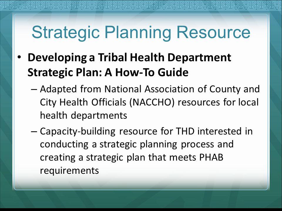 Strategic Planning Resource