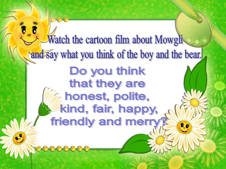 Watch the cartoon film about Mowgli