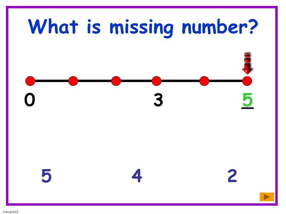 What is missing number 3 _ 5 5 4 2 klevans10