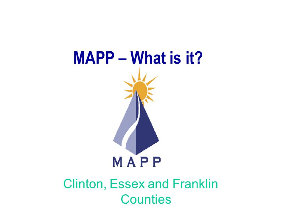 Clinton, Essex and Franklin Counties