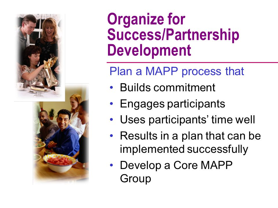 Organize for Success/Partnership Development