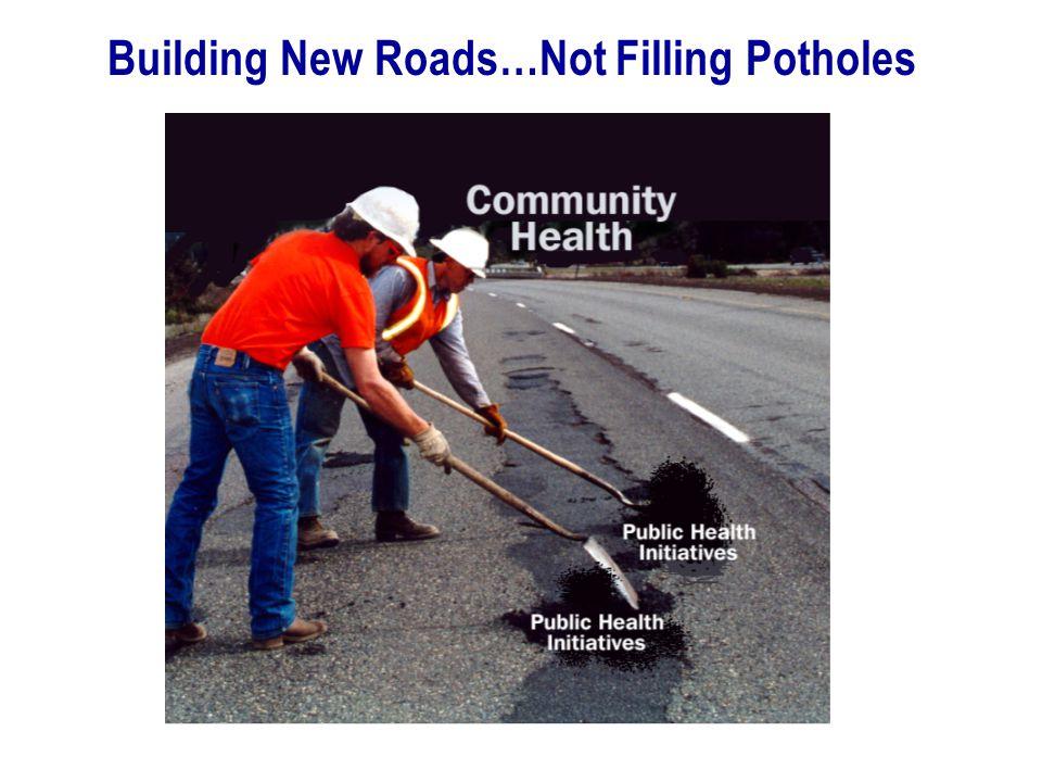 Building New Roads…Not Filling Potholes
