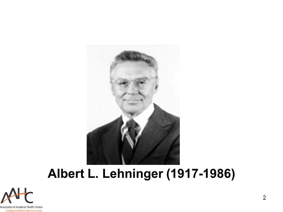 Albert L. Lehninger (1917-1986)