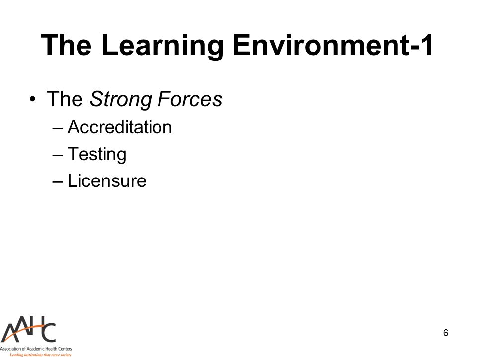 The Learning Environment-1