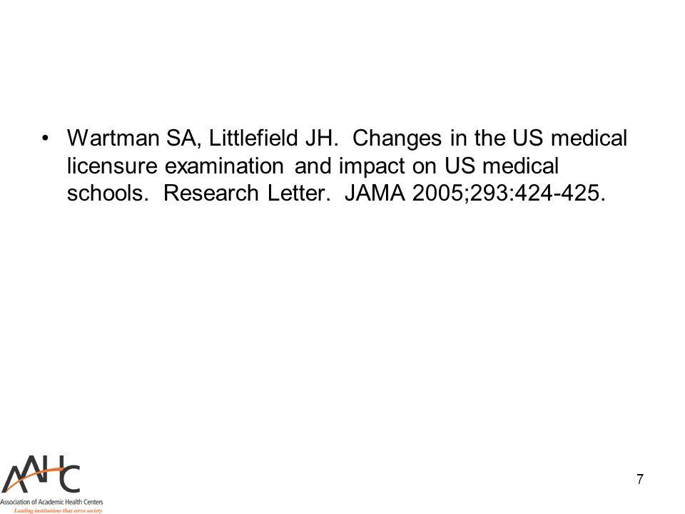 Wartman SA, Littlefield JH