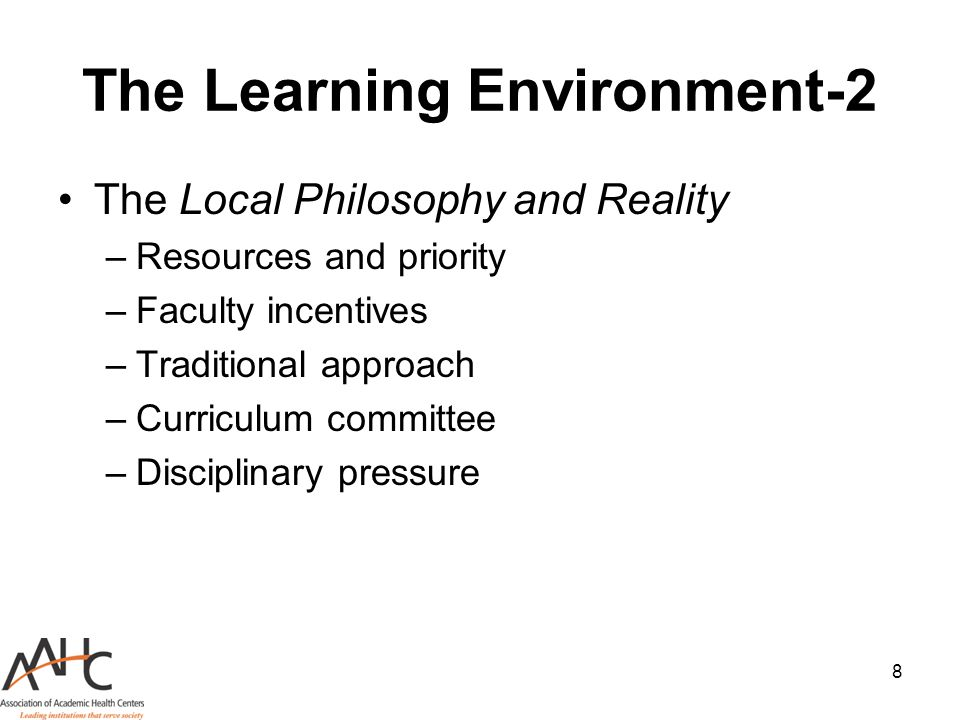 The Learning Environment-2