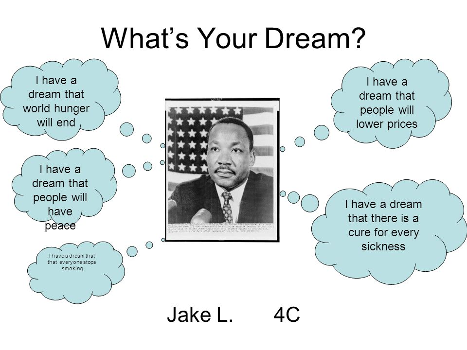 What's Your Dream Jake L. 4C