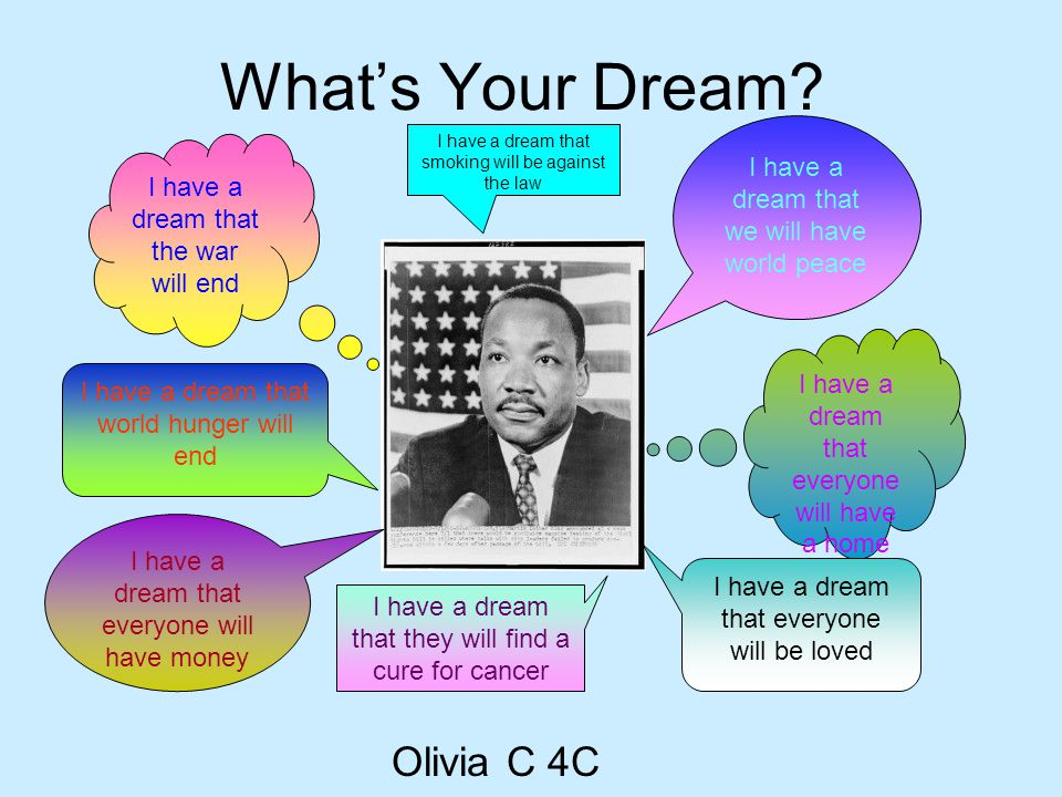 What's Your Dream Olivia C 4C