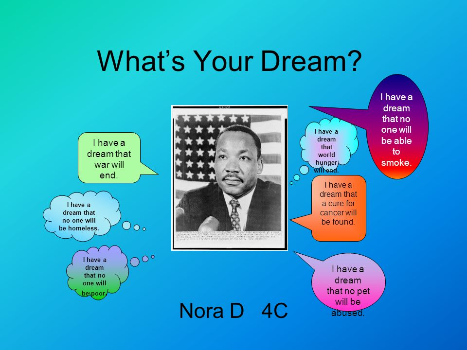 What's Your Dream Nora D 4C