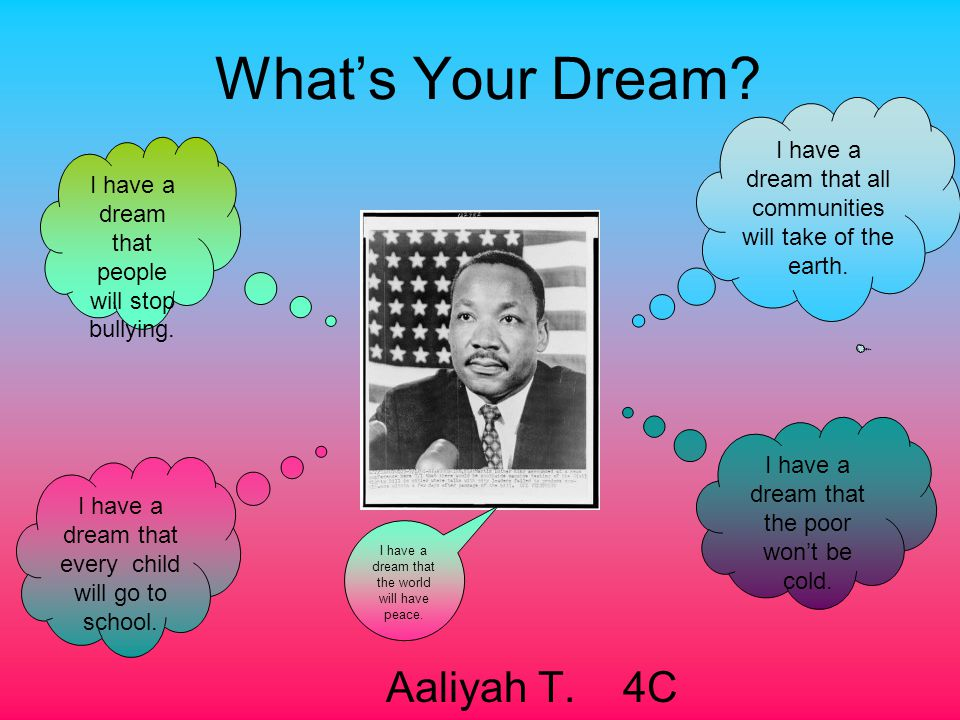 What's Your Dream Aaliyah T. 4C