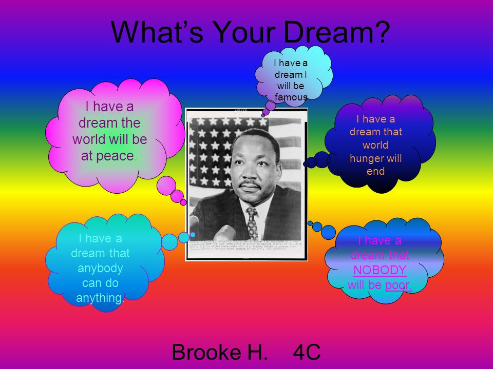 What's Your Dream Brooke H. 4C