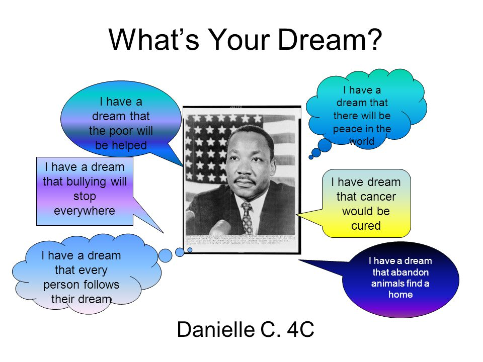 What's Your Dream Danielle C. 4C