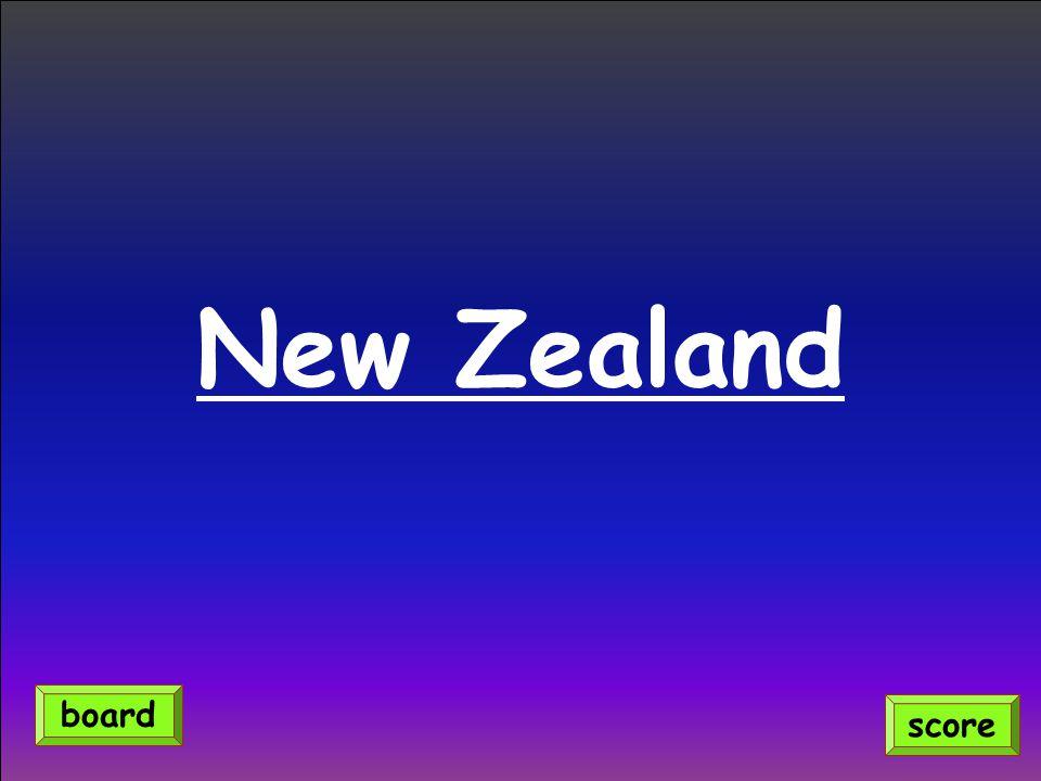 New Zealand board score
