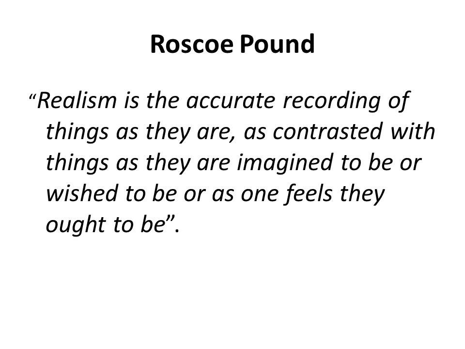 Roscoe Pound