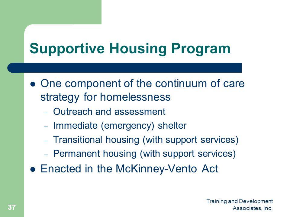 Supportive Housing Program