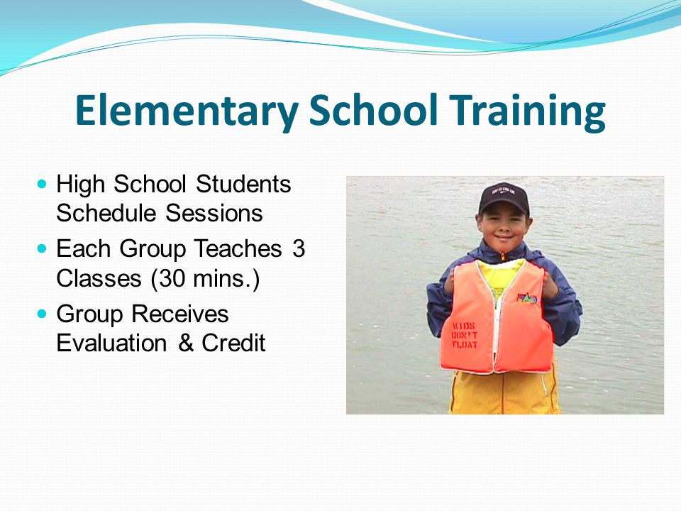 Elementary School Training