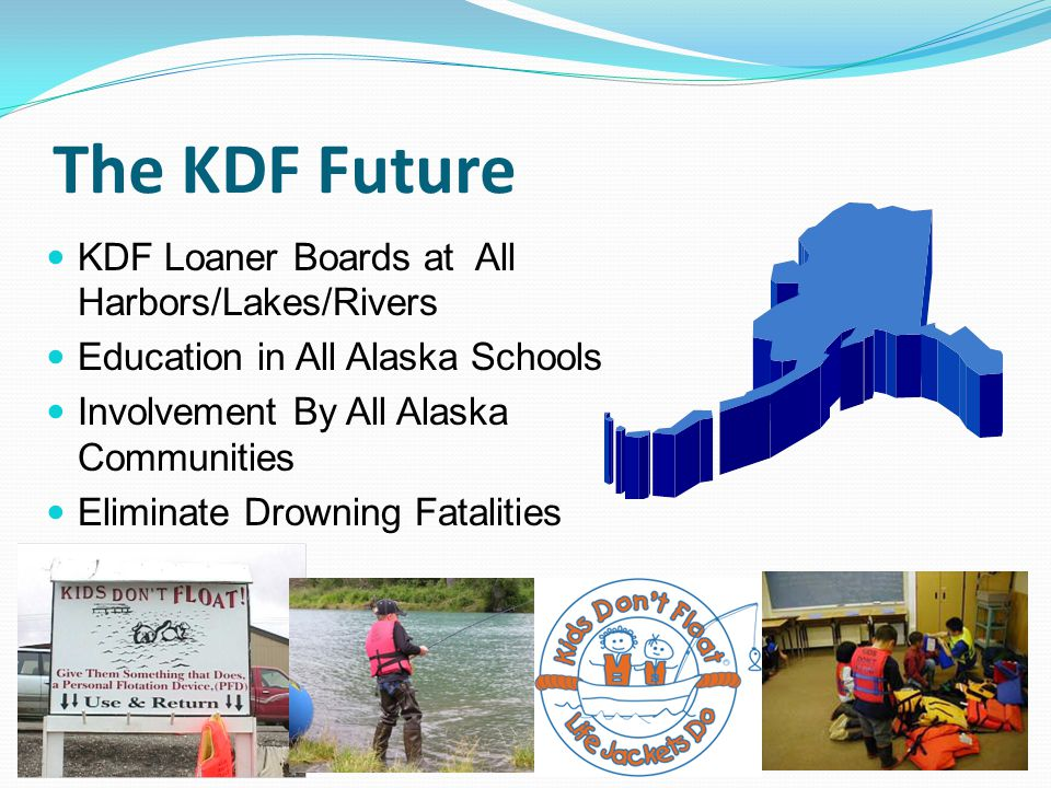 The KDF Future KDF Loaner Boards at All Harbors/Lakes/Rivers