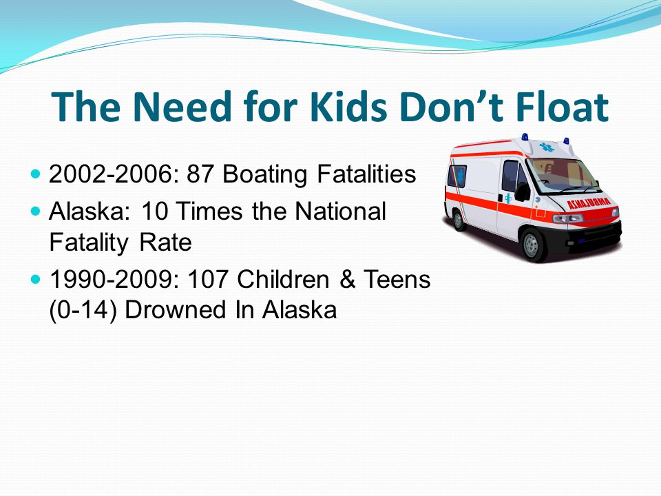 The Need for Kids Don't Float
