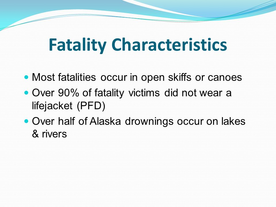 Fatality Characteristics