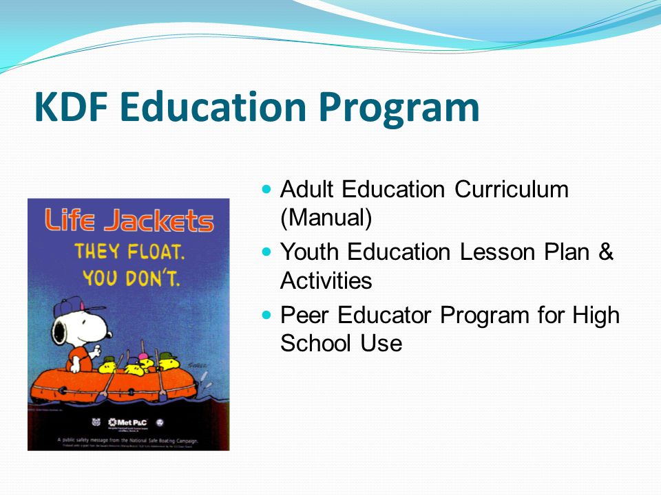 KDF Education Program Adult Education Curriculum (Manual)