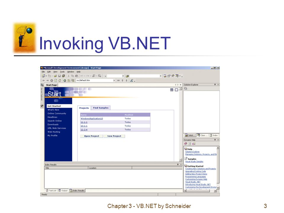 Chapter 3 - VB.NET by Schneider