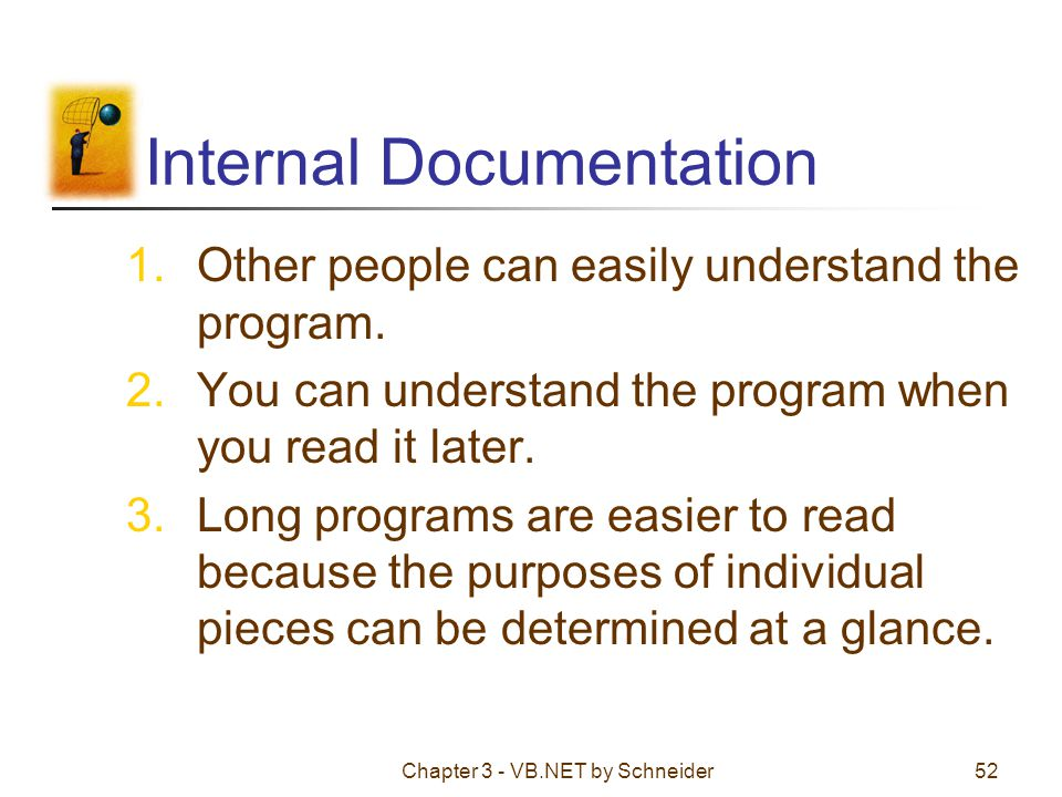 Internal Documentation