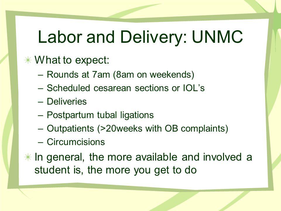 Labor and Delivery: UNMC