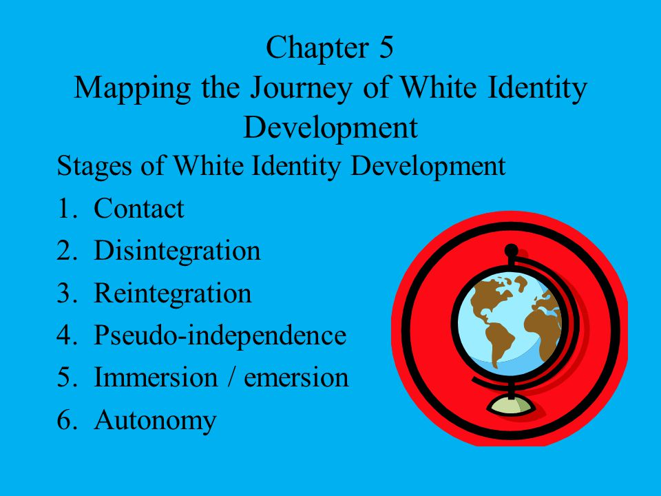 Chapter 5 Mapping the Journey of White Identity Development