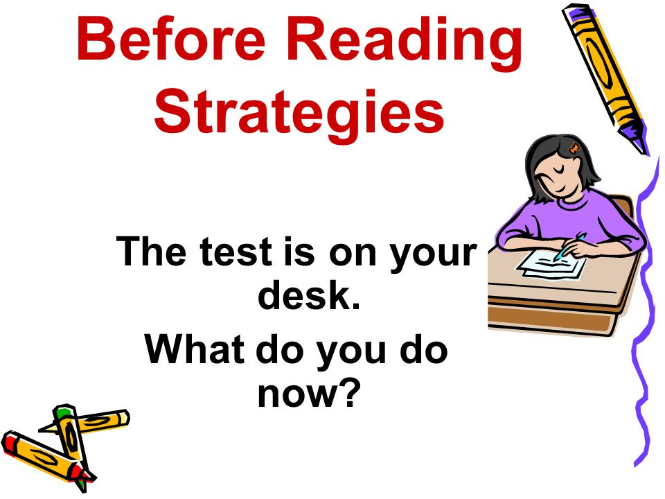 Before Reading Strategies