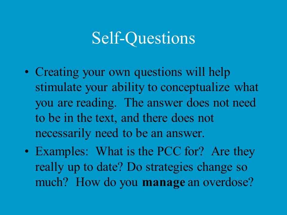 Self-Questions
