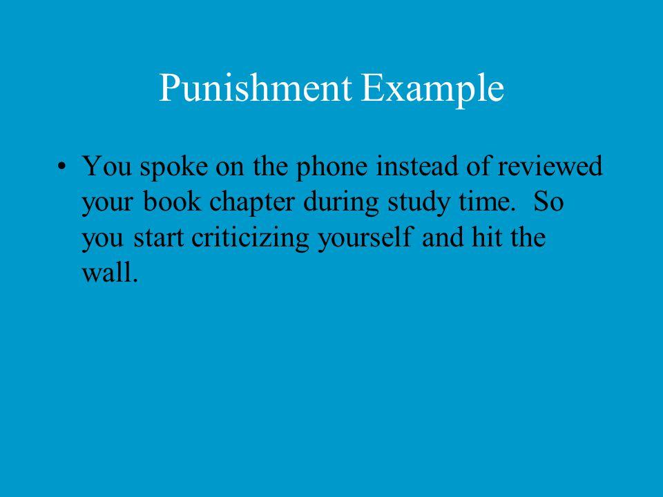 Punishment Example