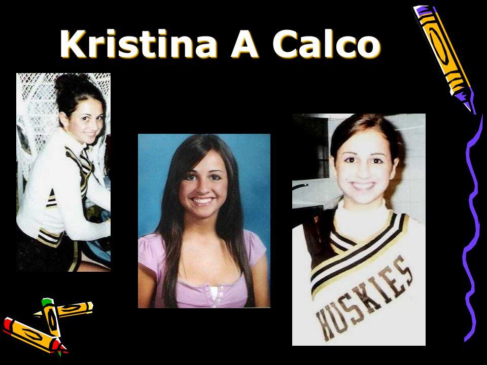 Kristina A Calco