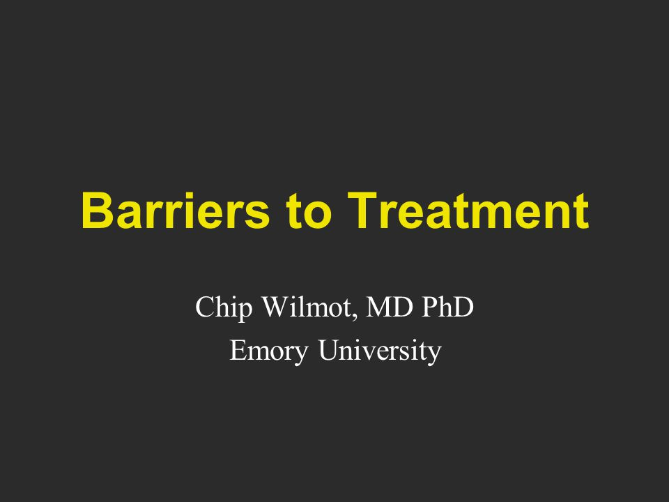 Chip Wilmot, MD PhD Emory University