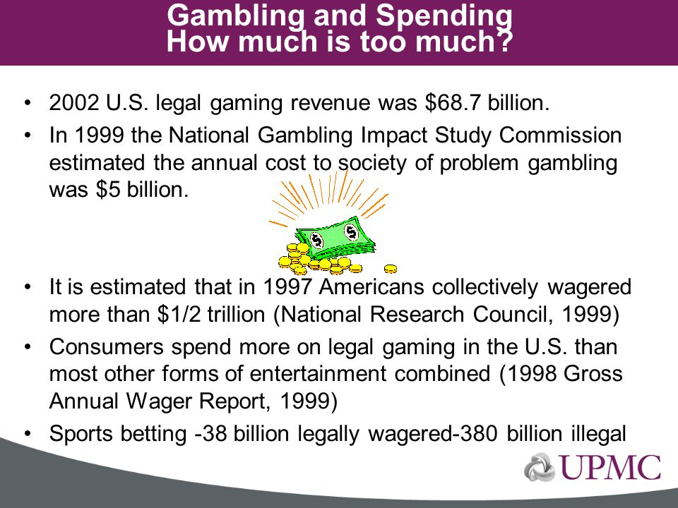 Gambling and Spending How much is too much