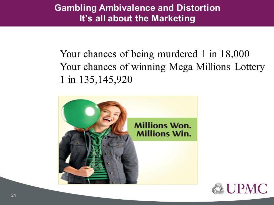 Gambling Ambivalence and Distortion It's all about the Marketing