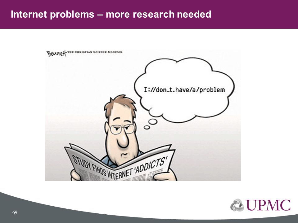 Internet problems – more research needed