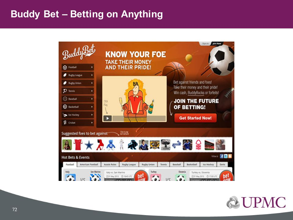 Buddy Bet – Betting on Anything