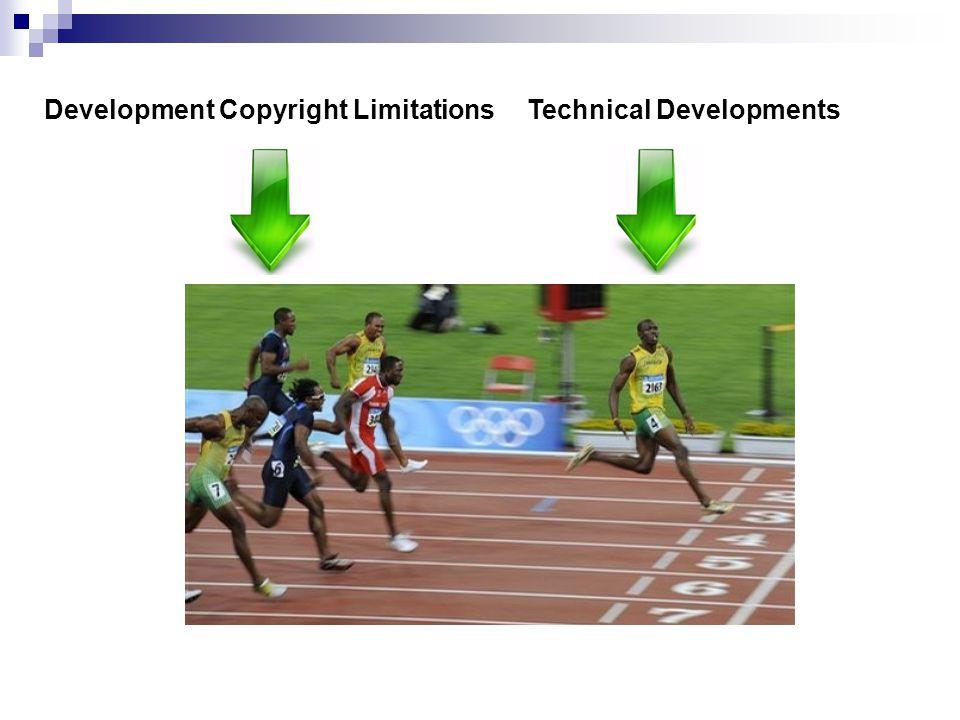 Development Copyright Limitations
