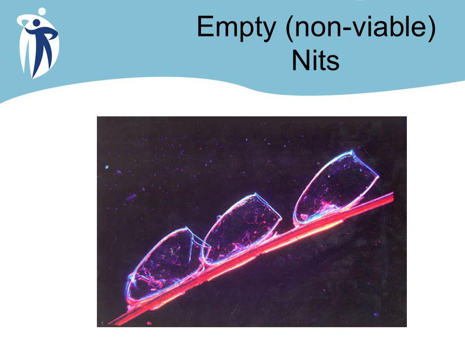 Empty (non-viable) Nits
