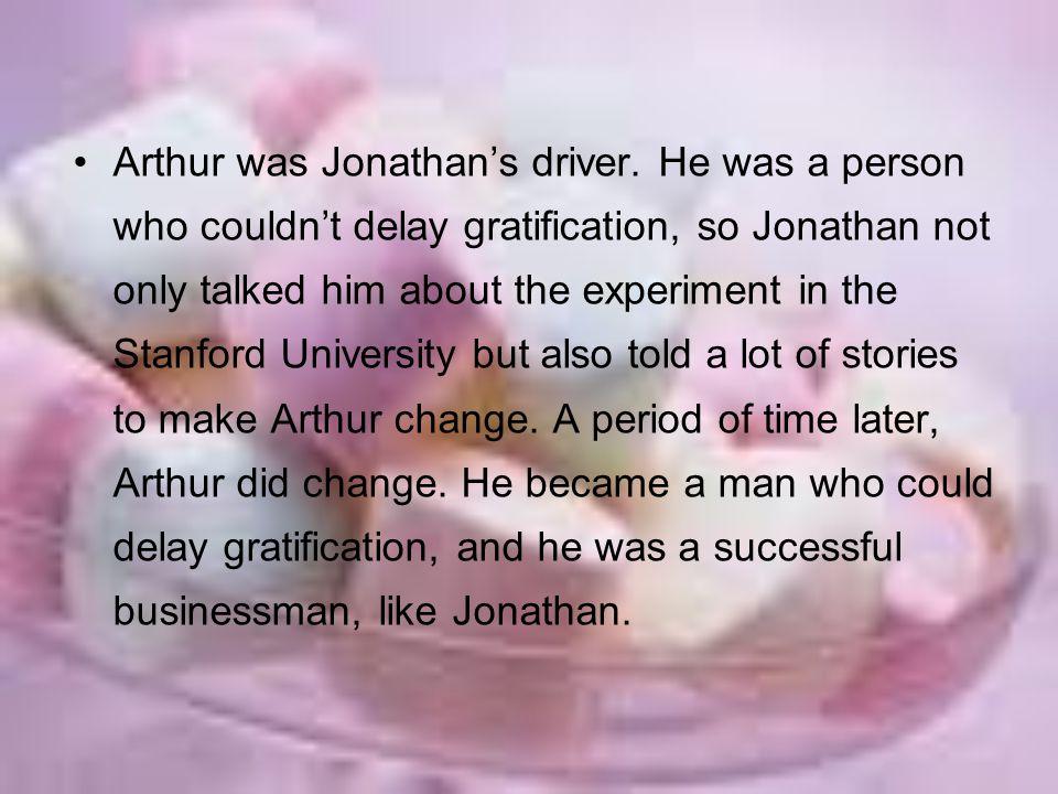 Arthur was Jonathan's driver