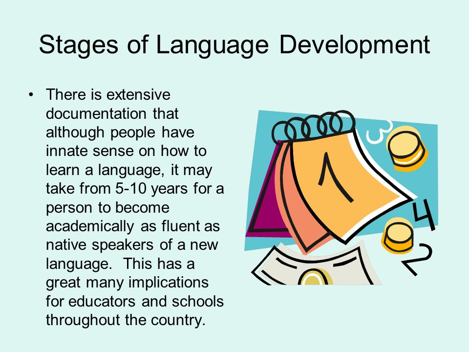 Stages of Language Development