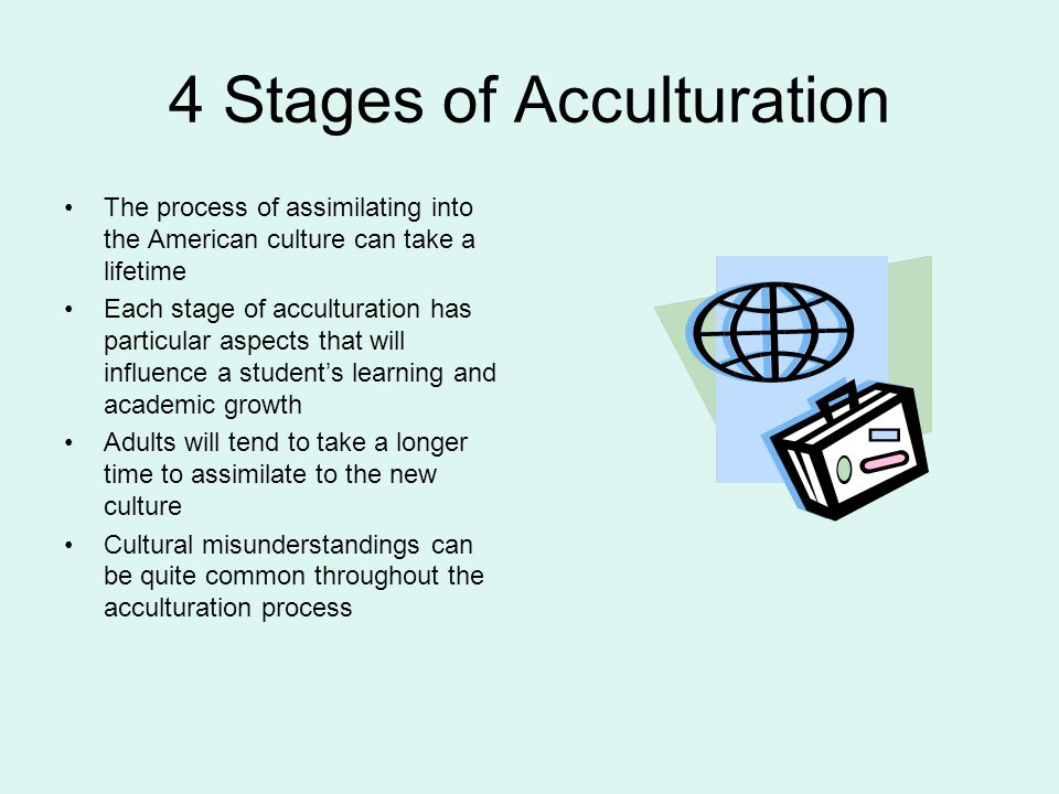 4 Stages of Acculturation