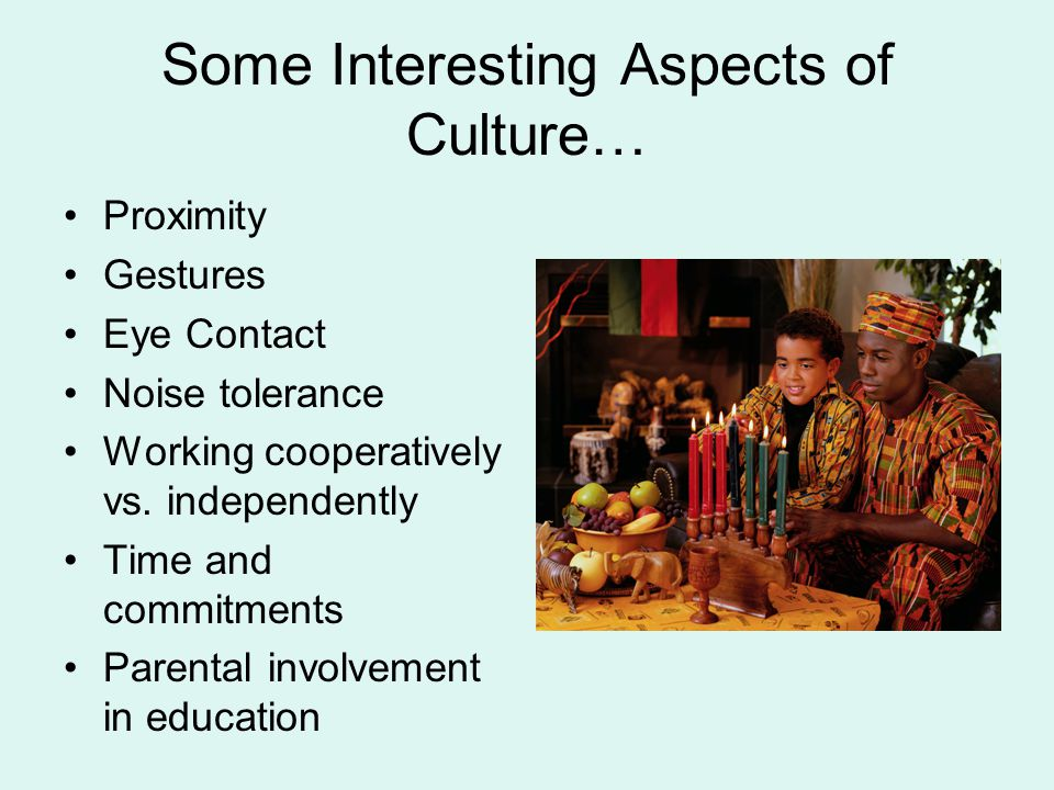 Some Interesting Aspects of Culture…