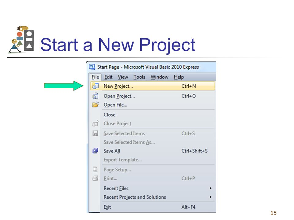 Start a New Project