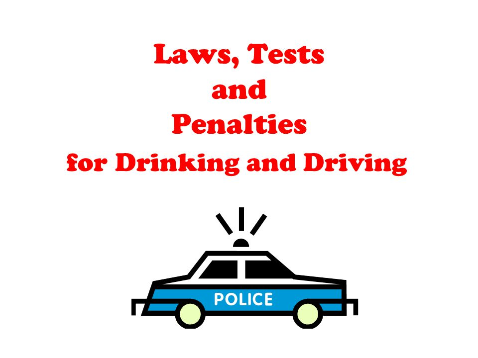 Laws, Tests and Penalties