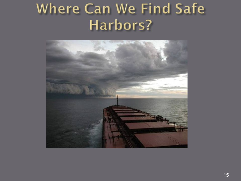 Where Can We Find Safe Harbors