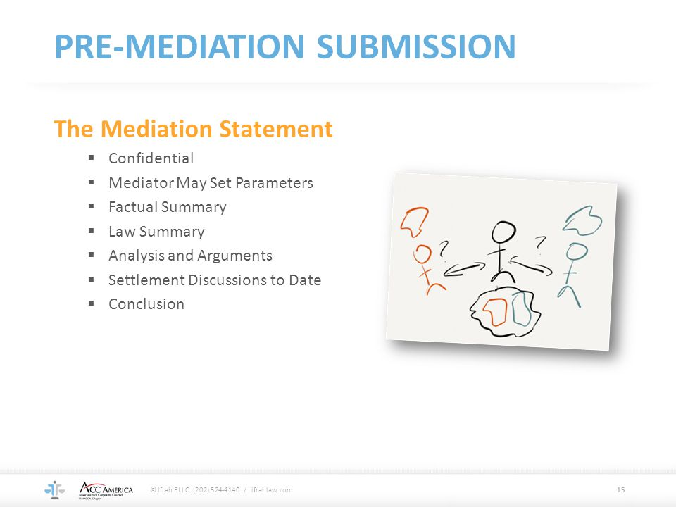 PRE-MEDIATION SUBMISSION